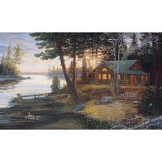York Wallcoverings, 10.5 ft. x 6 ft. Last Embers Chair Rail Wall Mural, LM7972M at The Home Depot - Mobile