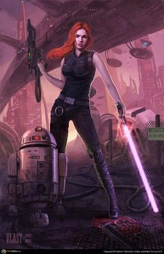 If I were a jedi... I would have a lightsaber and a P90!