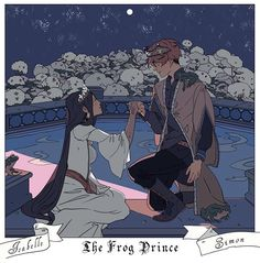 SIZZY The frog prince fairytale Artwork by Cassandra Jean