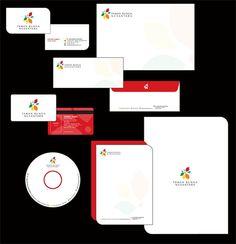 contoh desain Kop surat stationery overview