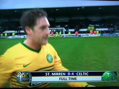 1/5/14 Celtic vs St. Mirren - Kris Commons gets his 100th and 101st goals.