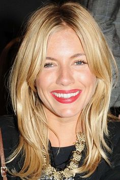 Sienna Miller is just peachy! | Hair Extensions Super Site