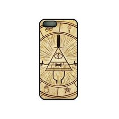 Angellix iPhone 5 Case,iPhone 5S Case,Gravity Falls Bill Cipher Hard... ❤ liked on Polyvore featuring accessories and tech accessories