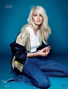 @Byrdie Beauty - Candice Swanepoel Goes Platinum