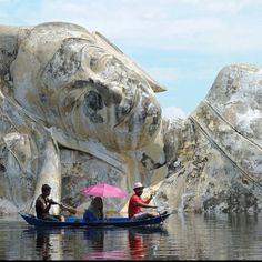 Inondations à Ayuthaya, Thailande