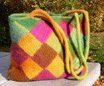 Felted Handbag Workshop: Free Pattern -- The Coco Bag