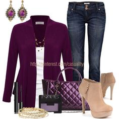 """Oatmeal Boots & Jersey Cardigan"" by casuality on Polyvore"
