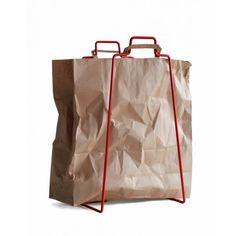 decovry.com - Everydaydesign   Paperbag Houder - Rood