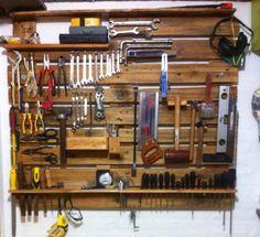Painel de ferramentas do papai