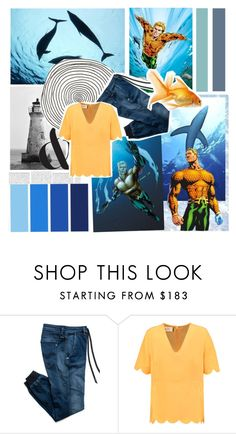 """""""Aquaman // En garde, you microscopic misanthrope!"""" by auntiewhispers ❤ liked on Polyvore featuring Seed Design, Replay and Marni"""