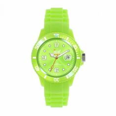 Ice-Watch Unisex Acid Green Silicone Strap Watch