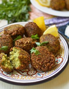 Homemade Falafel with Yogurt-Tahini via LittleFerraroKitchen.com_0105 by FerraroKitchen1, via Flickr