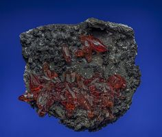 Rhodochrosite N'Chwaning Mines, Kuruman, Kalahari manganese field, Northern Cape Province, South Africa Taille=6.5 x 6.5 cm