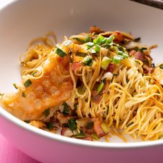 Bacon-fried Dumpling Noodles