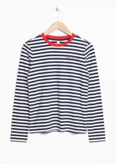 & Other Stories | Striped Long Sleeve Tee