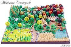 Lego Mocs Micro ~ Avalonian Countryside (1 of 9) | by Emil Lidé