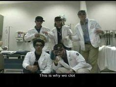 This is why we clot- anticoagulant rap