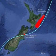 Earthquake triggers slow motion quakes in New Zealand #Geology #GeologyPage