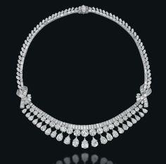 Lot 235 – A Diamond Fringe Necklace, By Mauboussin