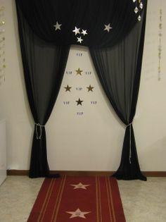 Photo area backdrop idea - VIP area