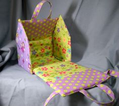 Etsy Find: Portable Eco-Friendly Fabric Doll Houses - Child Mode