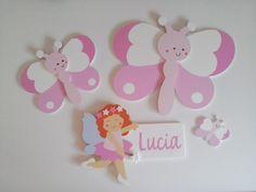 Colecciones mariposa y hada personalizadas de Picafusta.   http://afanderivera.wordpress.com/productos-2/picafusta/