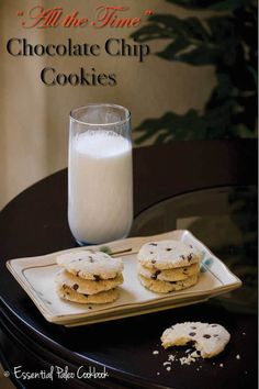Make-All-The-Time Paleo Chocolate Chip Cookies Recipe