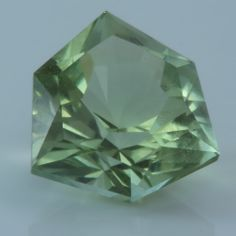 peridot colored tourmaline from nigeria by gulay atıcı ertan