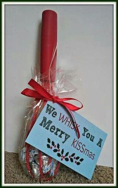 Cheap but cute christmas gift... Something I could do with my pampered chef business