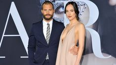 """Dakota Johnson Talks More Sex Scenes at 'Fifty Shades Darker' Premiere: """"It's Not Easy!""""  The Los Angeles premiere brought the film's onscreen masquerade ball to life.  read more"""