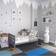 This room is so adorable!Thanks for the tag - Home Decor For Kids And Interior Design Ideas for Children, Toddler Room Ideas For Boys And Girls Baby Bedroom, Baby Boy Rooms, Baby Room Decor, Home Decor Bedroom, Bedroom Ideas, Bedroom Wall, Bedroom Apartment, Nursery Ideas, Bedroom Furniture