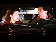 (The Stall) - ELAINE:  It's different for a man. We're expected to be superficial.
