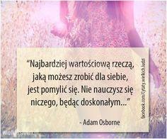 Najbardziej wartościową rzeczą, jaką możesz zrobić... #Osborne-Adam,  #Klęska,-porażka,-błędy