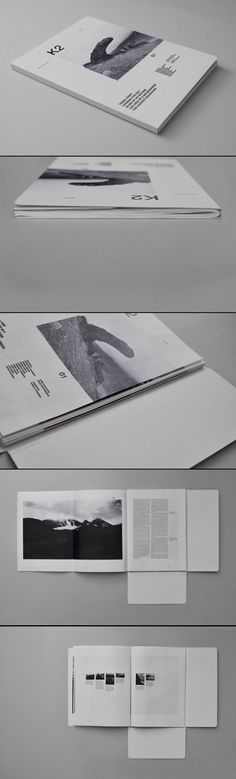 Amazing magazine layout design <3 http://torbjornkihlberg.com/k2-magazine/