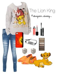 The Lion King by designer-disney on Polyvore featuring polyvore, fashion, style, Forever 21, TOMS, Disney, NARS Cosmetics, Urban Decay, Marc Jacobs, clothing, disney, thelionking and disneyfashion