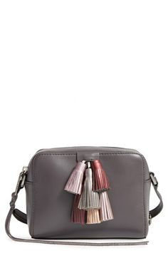 Free shipping and returns on Rebecca Minkoff Mini Sofia Leather Crossbody Bag at Nordstrom.com. Colorful leather tassels pop on a smooth, streamlined crossbody bag that serves as a vintage-chic must-have.