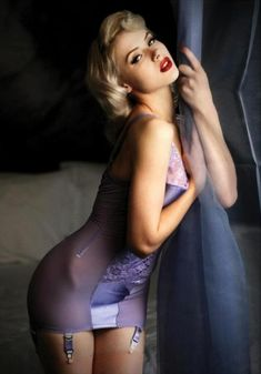 Boudoir pose. http://thepinuppodcast.com re-pinned this because we are trying to make the pinup community a little bit better.