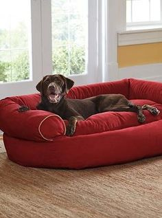 Give your dog the ultimate plush resting spot with the Sofa Dog Bed; stylish and comfortable for both your home and your pet!