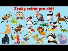 zvuky zvířat pro děti (50 zvířat ze zoo ,zvířat z lesa, zvířat v lese, hospodářských zvířat) - YouTube Bambi, Bowser, Family Guy, Snoopy, Education, Comics, Youtube, Movie Posters, Fictional Characters