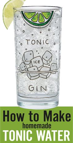 Learn how to make tonic water the easy way. A fun way to enjoy cocktails and impress your guests. Made from citrus, barks, herbs, spices and simple syrup. Perfect for gin and tonic cocktails. Plus it's vegan and gluten free. Made with tonic kit from @uncommongoods #sp - www.platingpixels.com