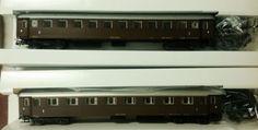 n.2 vagoni FS. BZ. 33754 & FS. AZ. 13030 scala HO OSKAR ... nuovissimi