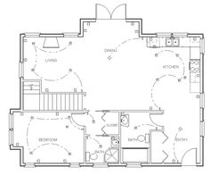 Elegant Complete Tutorials On How To Design Your Own House Plans, Starting With Raw  Land And Ending Up With Full Construction Blueprints. Creating Final House  Floor ...