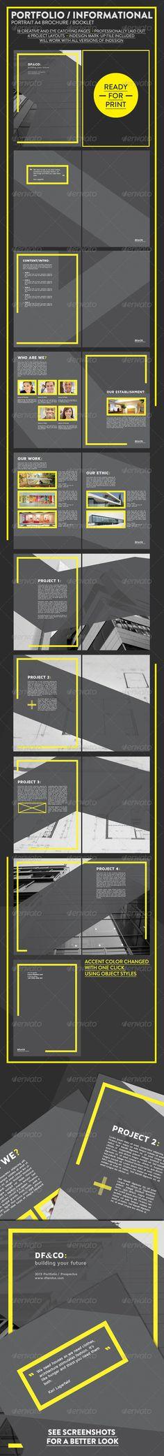 Modern Portfolio and Informational Brochure