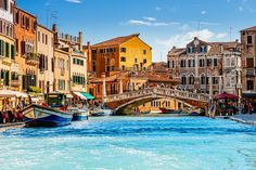 Ponte delle Guglie, otherwise known as the Bridge of Spires, leads to the Venetian Ghetto ©  Alyaksandr Stzhalkouski / 500px