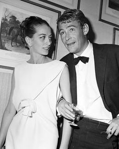 Peter O'Toole and Capucine