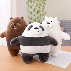 We Bare Bears, Bear Cartoon, Birthday Gifts For Kids, Bear Doll, Panda Bear, Polar Bear, Doll Toys, Plushies, 1 Piece