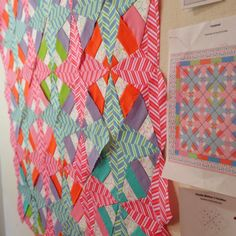 Peppermint Pinwheels: On The Design Wall: Pop Rox!