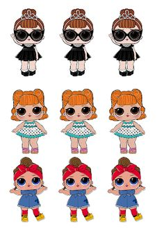 Dani Ferrari s 6th Birthday Parties, Girl Birthday, Lol Doll Cake, Kolaci I Torte, Cartoon Profile Pics, Holly Hobbie, Disney Infinity, Lol Dolls, Kewpie