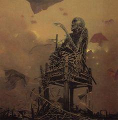 El arte oscuro de Zdzislaw Beksinski, POLACO.