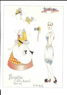 More dolls from American paper - Ulla Dahlstedt - Picasa Webalbum